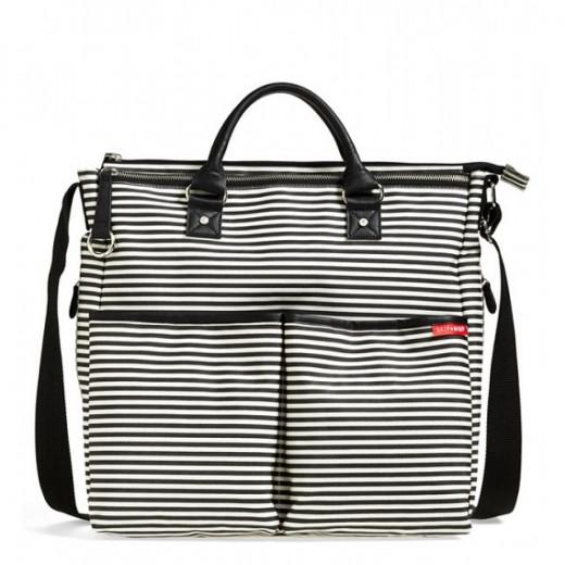 DUO SPECIAL EDITION DIAPER BAG - Black Stripes