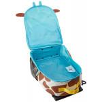 Skip Hop Zoo Little Kid Travel Rolling Luggage Backpack - Giraffe