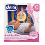 Chicco Goodnight Moon Soft Musical Nightlight Pink