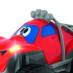 سيارة بيلي عجلات كبيرة حمراء من شيكو