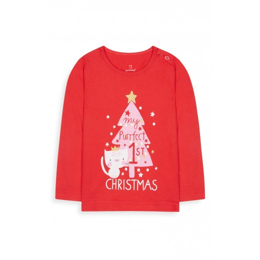 Primark My perfect 1st Christmas shirt 0-3 Months