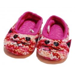 Winter Slippers -Cat - Small