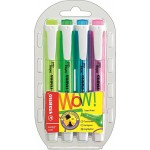 Stabilo Swing Cool Highlighters Wallet of 4