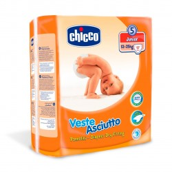 Chicco Diapers Size 5 Junior 12-25 KG 17 Pieces