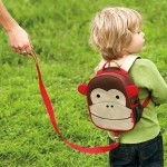 Skip Hop Zoo Little Kid and Toddler Safety Harness Backpack, Monkey