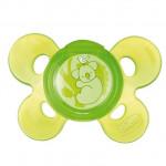 لهاية سيليكون (+12 شهر ) - قطعو واحدة بلون أخضر من تشيكو