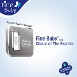 Fine Baby Super Dry - Smart Lock, Size 4 Large, 7-17 Kg, Jumbo Pack, 44 PCS