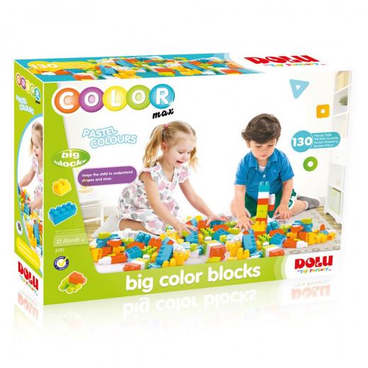 مكعبات ملونة كبيرة من دولو  قطعة 130