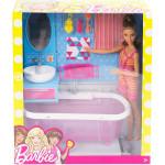 Barbie Doll & Bathroom Playset