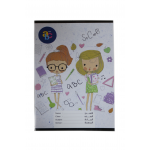 ABC Sleeved notebook English 60 pages