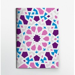 Colors & Shapes Oriental Mosaic R Notebook