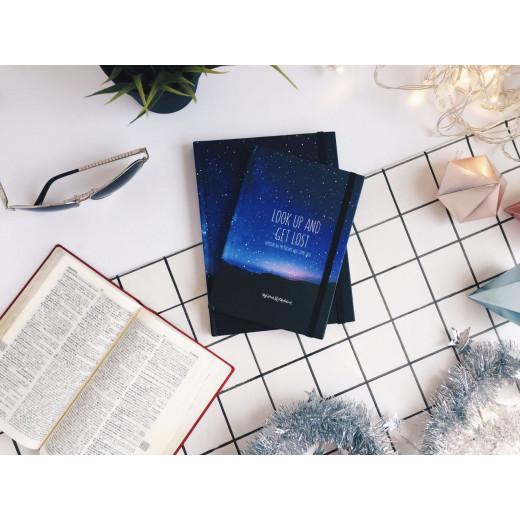دفتر رسم جالاكسي صغير - أزرق
