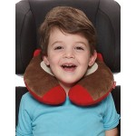 Skip Hop Zoo Little Kid and Toddler Travel Neck Rest, Monkey