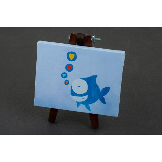 Hope Shop By KHCF - Canvases - Happy Fish