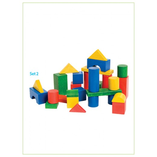 Edu Fun Colourful Building Blocks Set 2 (58 pcs)