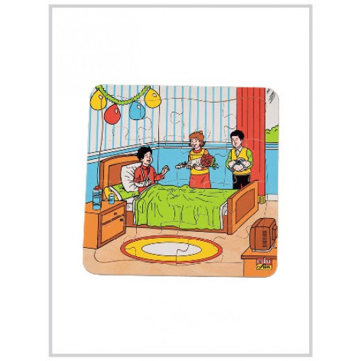 Edu Fun Good Manner Puzzles (Visiting the sick)