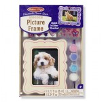 Melissa & Doug  Decorate-Your-Own Wooden Picture Frame
