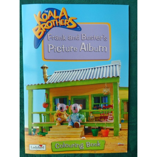 The Koala Brothers Frank and Buster's Picture Album: Colouring Book!
