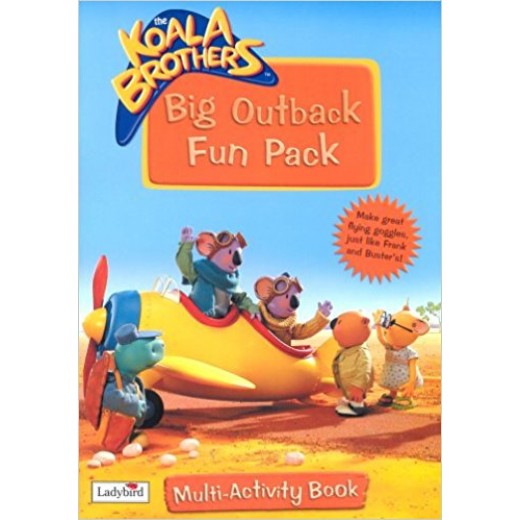 Koala Brothers Big Outback Fun Pack: Multi-Activity Book