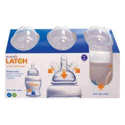 Munchkin Latch 4oz/120ml Bottle - 3 Pack