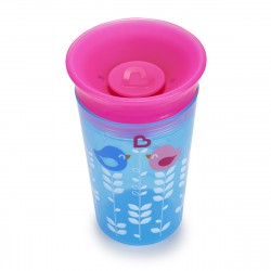 Munchkin Miracle 360° Deco Sippy Cup - 266 ml (Blue Bird)
