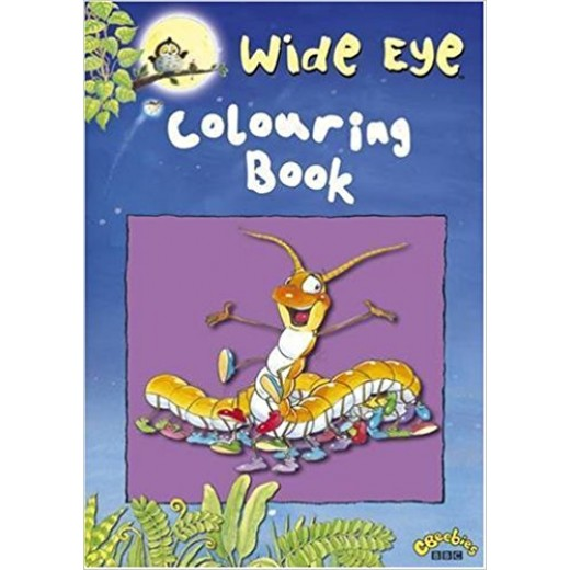 Wide Eye Colouring Book