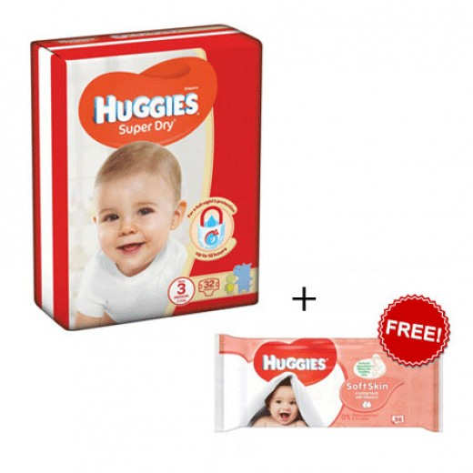 Huggies Jumbo Diapers Offer Size 3 (46  Diapers)