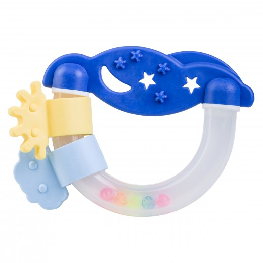Pigeon Rattle Teether Night & Day