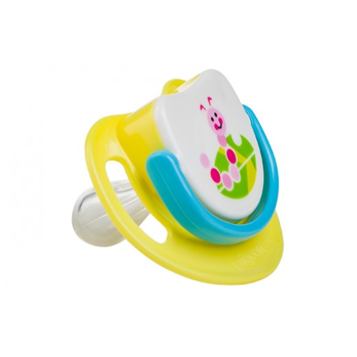 Pigeon Silicone Pacifier Step 2 - (Caterpillar)