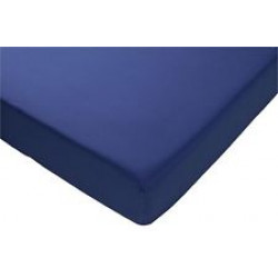 Candide Jersey fitted sheet- 60X120 L.Blue - وردي