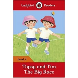 Ladybird Readers Level 2 - Topsy and Tim: The Big Race