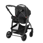 Graco Evo Avant Travel System With Car Seat, Black Grey