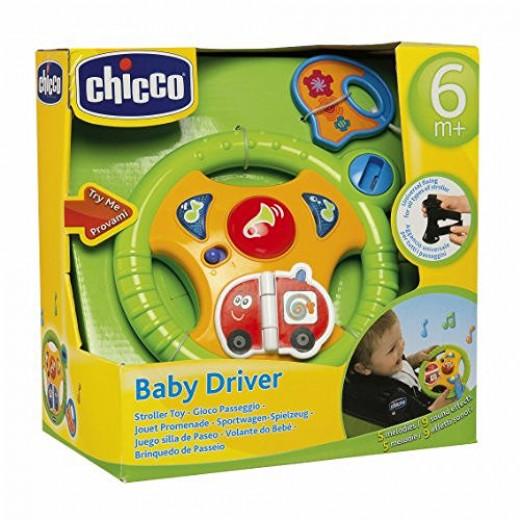 عجلة قيادة لأنشطة الطفل من شيكو متعددة الألوان