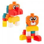 Chicco Toy Building Blocks Cat/ Dog Set 15pc