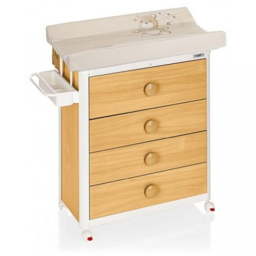 Brevi Changing Dresser Olimpia Beech