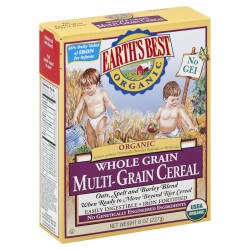 Earth's Best Organic Whole Grain Cereal 227g