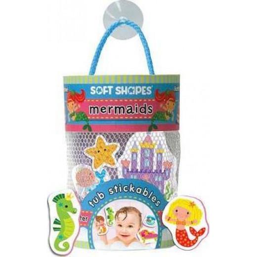 Innovative Kids Green Tub Stickables: mermaids
