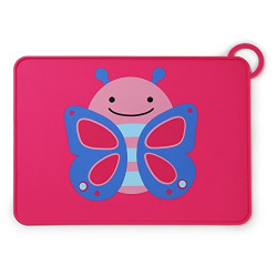 Skip Hop Little Kids Eating Table Place Mat, Butterfly