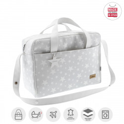 Cambrass Maternity Bag, Etoile - Grey