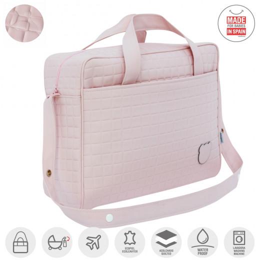 حقيبة الحمل للأم لتظين أغراض البيبي من كامبراس ، وردي غامق