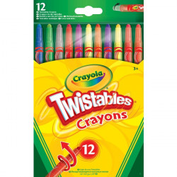 Crayola 12 Twistable Crayons 1*24