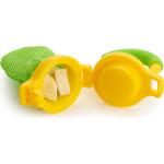مغذي طعام طازج من مانشكين - أصفر / أخضر