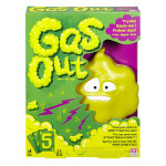 Mattel - Gas Out Card Game Action Reflex Family Fun Childrens Toy