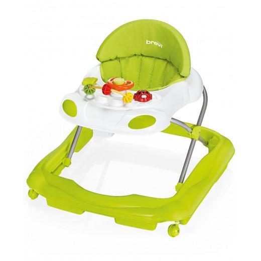 Brevi Baby Walker Speedy, Green