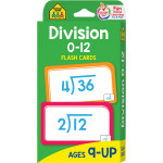 School Zone - Division 0-12 Flash Cards