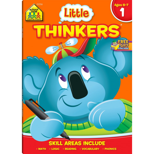 School Zone - Little Thinkers ages 6-7 skill areas include