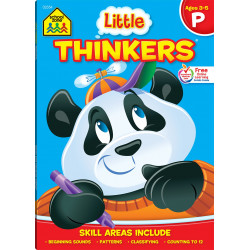 School Zone - Little Thinkers: Preschool Deluxe Edition Workbook