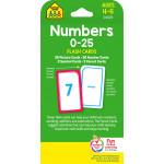 بطافات لتعلم الأرقام 0-25 - سكول زون