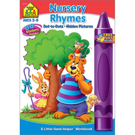 School Zone - Nursery Rhymes - Dot-to-Dots & Hidden Pictures Workbook