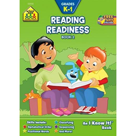 "School Zone -Reading Readiness - Grades K-l An ""I Know It"" Book"